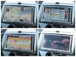 社外ナビが装備されております♪画面もクリアで運転中も確認しやすいです♪フルセグTVとDVDの視聴もお楽しみ頂けます♪