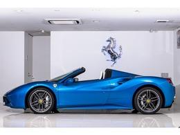 フェラーリ 488スパイダー 夏リゾート仕様 ビアンコレザー認定中古車延長保証1年付帯