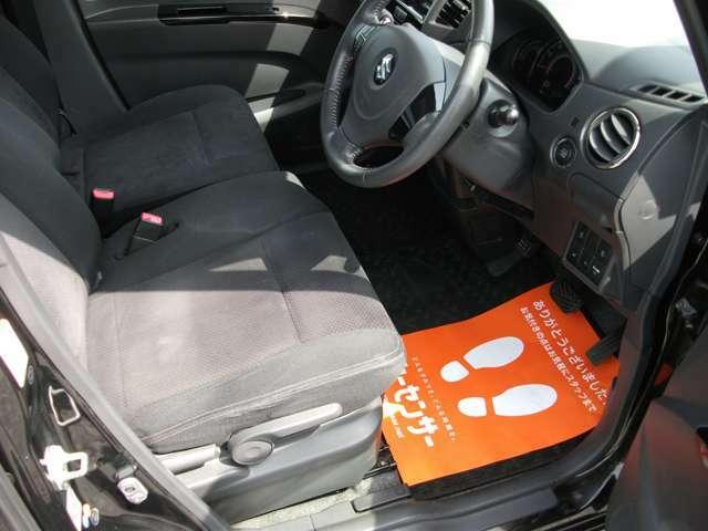 運転席です♪ シートにはヘタレなどが見られます♪