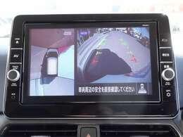 360度見渡せるアラウンドビューモニターとバックカメラ付なので駐車が苦手な方でも安心です♪