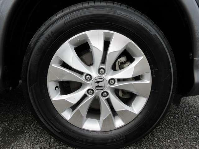 純正アルミホイール タイヤサイズ225/65R17インチ