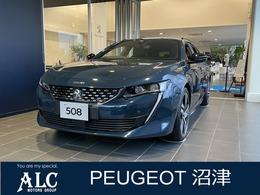 プジョー 508SW GT ブルーHDi プレミアムレザーエディション ディーゼルターボ 登録済未使用車 黒革 純正ナビ ETC
