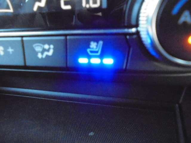 エクスクルーシブモードにはシートエアコンが装備されています