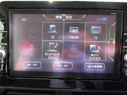 DVD・CD再生&フルセグT&Bluetoothオーディオ・ハンズフリー通話&楽曲録音機能付き♪