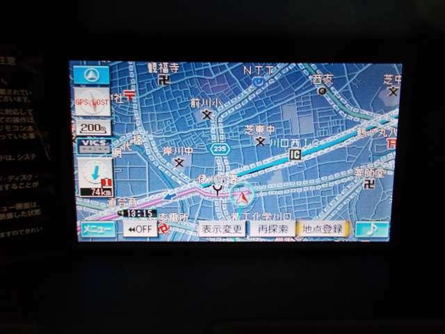メーカー純正オプションHDDナビ バックカメラ サイドカメラ USB AUX SD
