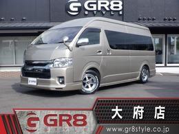 トヨタ ハイエース 2.7 グランドキャビン 10人 SDナビ Bカメ キャンピングカー