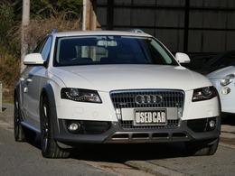 アウディ A4オールロードクワトロ 2.0 TFSI 4WD 黒革シート 下取車