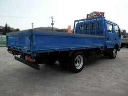 H23 トヨタ トヨエース ワイドロング Wキャブ 積載2000kg 走行119850km ボディ内寸長さ3470 幅1910 高さ380
