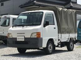 スバル サンバートラック 660 TB 三方開 小窓付き幌 AC AT