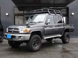 トヨタ ランドクルーザー70ピックアップ 4.0 4WD リフトUPRキャリア社外AWデフロック