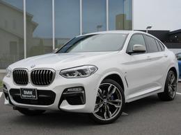 BMW X4 M40i 4WD LED21AW黒革地デジACCBカメ禁煙1オナ