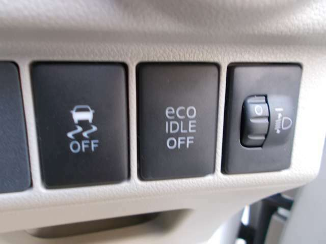 燃費・環境に優しいエコアイドルも付いてます♪