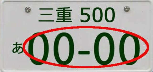 Aプラン画像:一連番号(4桁数字)をご希望の数字に!!