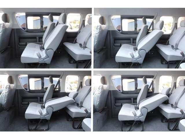 リクライニング幅拡大加工可能!助手席・リクライニングの少ないリクライニング量を拡大し、ゆったりと座れます!