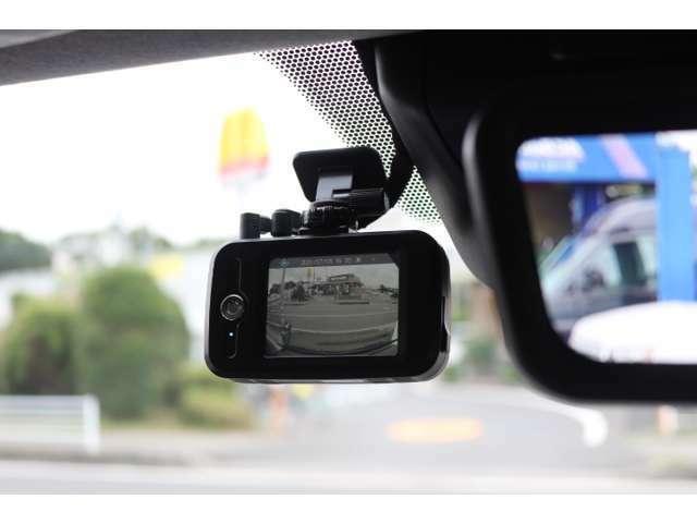 フロントカメラ装着例