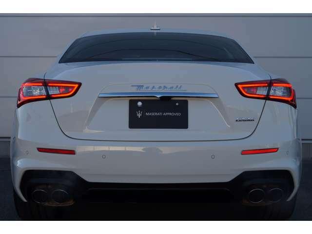 高年式車輌にはMaseratiディーラーのみがご提供できる、サーティファイドプレオウンド(有料保証)をお付けできます。全国のMaseratiディーラーにて保証対応可能となっております。