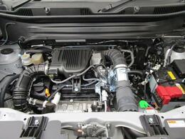 優れた燃費性能とハイパワーを両立。K10C型1.0L直噴ターボエンジン搭載