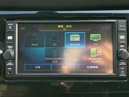 【純正メモリーナビ(M117D-W)】CD/SD/Bluetooth/フルセグTV