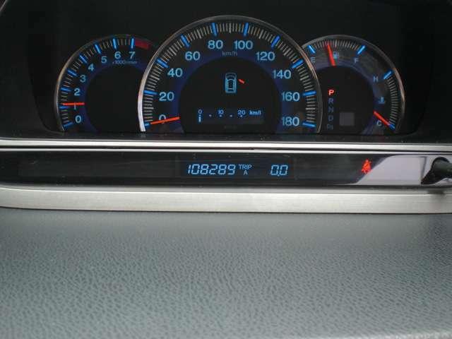 走行108000km。まだまだ快調です!