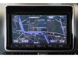純正9インチナビ付 Bluetooth接続やフルセグTVの受信も可能です♪ 大画面で見やすいですよ