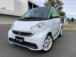 スマート フォーツーエレクトリックドライブ ベースモデル シートヒーター ETC