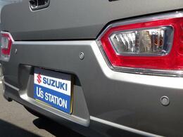 リヤバンパーにはパーキングセンサーがついておりますのでバック駐車時も安心です!