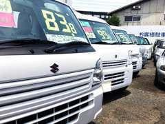 修理、点検、車検、新車、中古車販売まで幅広く対応いたします。