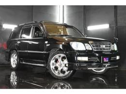 トヨタ ランドクルーザー100 4.7 VXリミテッド Gセレクション 4WD 22AW サスコン 黒革シートカバー キセノン