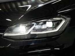 LEDヘッドライト(オートハイコントロール機能/LEDポジション/LEDターンシグナル付)☆関東最大級のAudi・VW専門店!豊富な専門知識・経験で納車後もサポートさせていただきます☆
