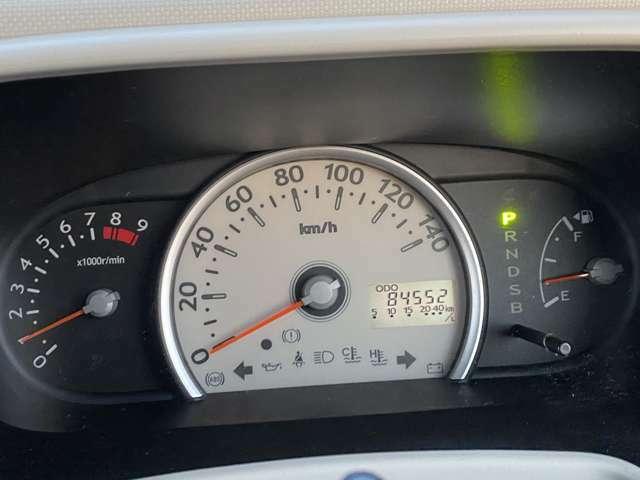 <メーター>走行距離8・5万kmです!