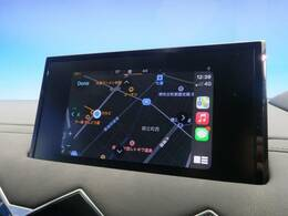 ●AppleCarPlay/Android Auto『お持ちのスマートフォンをナビとしてご使用いただけます。フランス車の主流になってきております。』