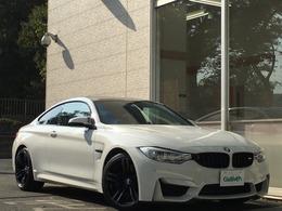 BMW M4クーペ M DCT ドライブロジック カーボンルーフ インテリセーフティ HUD
