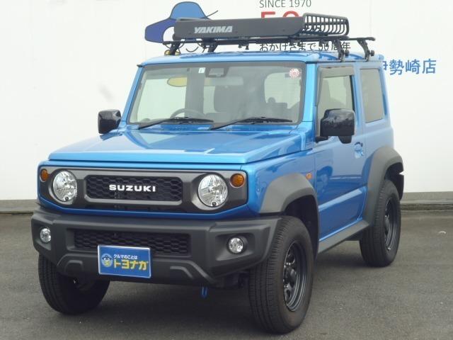 人気車種のジムニーシエラが入荷しました!きれいなブルーです!