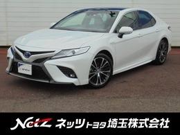 トヨタ カムリ 2.5 WS レザーパッケージ 当社社用車・衝突軽減ブレーキ・サンルーフ