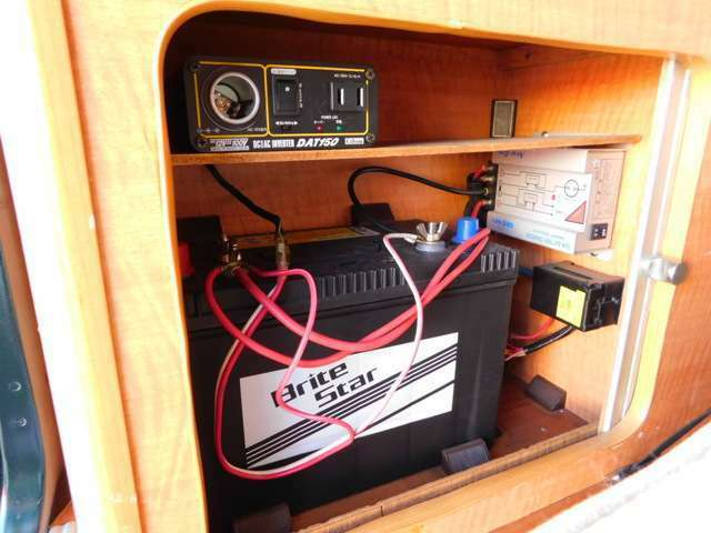 サブバッテリー 走行充電 150Wインバーター