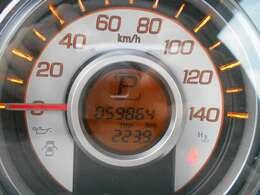 走行距離は59,864キロ!まだまだお乗り頂けます。