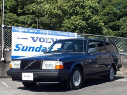 ボルボ 240エステート クラシック 93年最終モデル ディーラー車 ETC