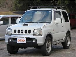 スズキ ジムニー 660 ワイルドウインド 4WD ルーフキャリア 社外アルミ