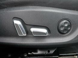●ランバーサポート機能付パワーシート『電動式で楽々シートアレンジ!腰当ての部分も微調整ができる優れものです。』