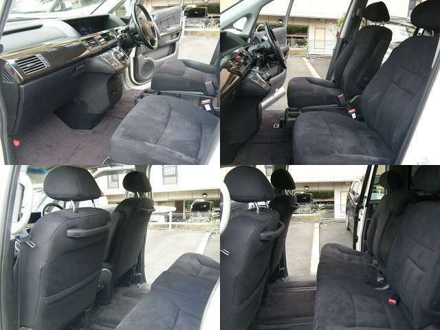 □■□■□お体が直接触れるシートが汚いと嫌ですよね?その点このお車は、専属スタッフが専用の溶剤で丹念にクリーニングしておりますので非常に綺麗です。□■□■□