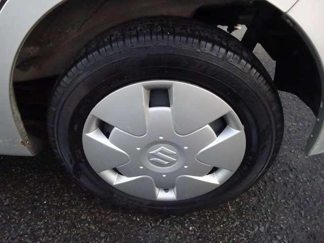 タイヤも残り溝はまだ十分ありますので、大丈夫です(*^_^*)
