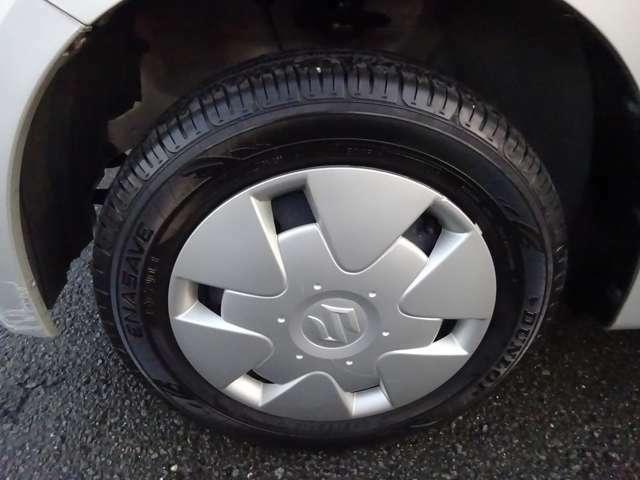 タイヤの残り溝はまだ十分ありますので大丈夫です(*^_^*)