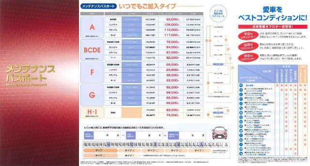 Bプラン画像:あんしん10検(6ヶ月点検)x2回・12ヶ月法定点検・車検整備をお得なセットに!エンジンオイル交換は半年毎に実施♪