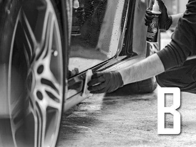 Bプラン画像:弊社専属のプロスタッフによる高級ボディコーティングを実施いたします/見違えるほどお車に高級感が蘇ります/具体的な施行内容についてはブランドや使用液剤などは整備内容については弊社スタッフまでご相談下さい