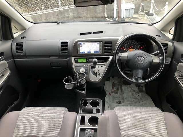 平成20年3月登録 103502Km コンディション良好ウィッシュ入庫しました。純正ナビ/TV(ワンセグ)・バックモニター・HIDヘッドライト  車検整備付き! 内外装仕上げ済みです。