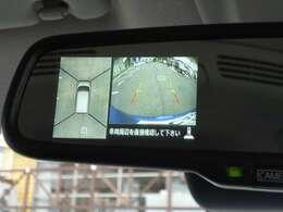 マルチアラウンドモニター。上からの視点で駐車をサポート