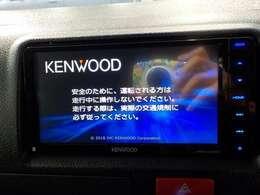 ケンウッド製SDナビを装備!とても使いやすいナビです!