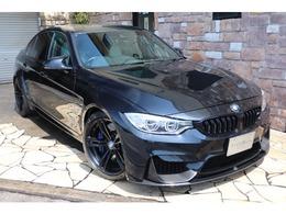 BMW M3セダン M DCT ドライブロジック 白革 Mパフォエアロ 禁煙車