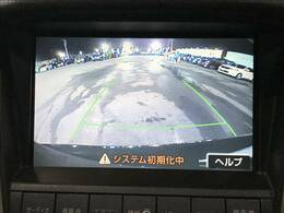 駐車時楽々「フルカラーバックモニター」装備で初心者の方でも安心。