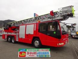 日野自動車 日野 モリタ製 消防車 40m級ハシゴ消防自動車 リフター付 スーパージャイロラダー